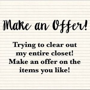Tops - SALE!!!!! CLEARING OUT MY CLOSET!